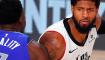 2020赛季NBA季后赛 独行侠经过加时赛较量以135-133击败快船