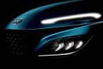 现代汽车在几周全球首发之前 透露了现代科纳紧凑型SUV的预告片