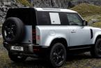 2021年Land Rover Defender宣布推出2门车身样式