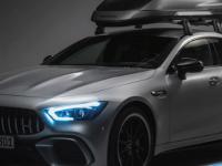 梅赛德斯AMG的新车顶箱有自己的后扩散器