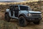 2021年福特Bronco拥有吉普式折叠挡风玻璃