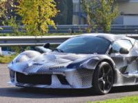 法拉利基于LaFerrari的新原型已经在意大利道路上进行了测试