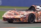 独特的兰博基尼SC20在赛道上测试