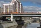 Elektrozavodsky桥在首都东部被修复