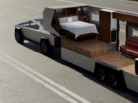 特斯拉Cybertruck皮卡有能力拖曳一辆小型房车
