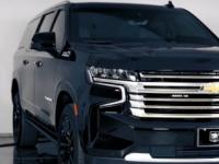 加拿大公司Inkas Armored开发了雪佛兰Suburban系列SUV的装甲版本