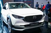 马自达CX-30电动车已经亮相2021上海国际车展上