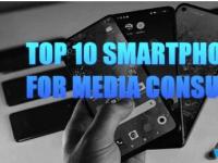 媒体消费排名前10的智能手机