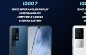 iQOO已宣布iQOO 7系列的预购折扣为5000卢比