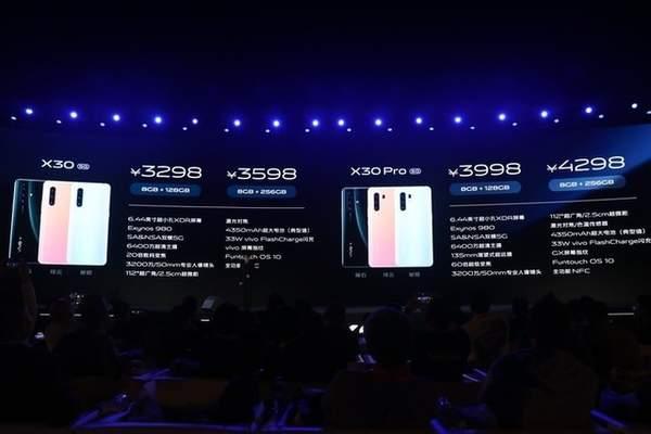 vivox30上市时间是什么时候?首发价格是多少?