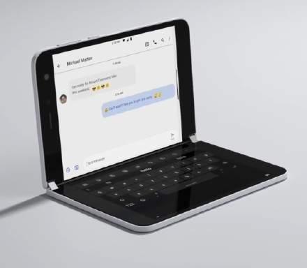 微软双屏手机Surface Duo官方开箱视频:小巧而精美