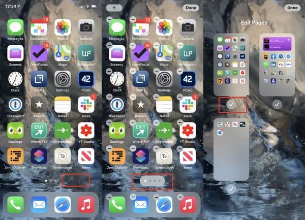 iOS14正式版教程,iOS14正式版怎么隐藏主页面