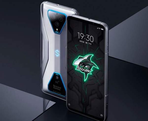 腾讯黑鲨3S手机今日开售,骁龙865+120Hz屏幕4799元起