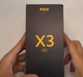 小米POCOX3真机开箱:骁龙732G+后置奥利奥矩阵四摄