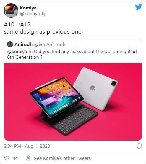 苹果iPad产品线全面更新,iPad8预计今年9月上线