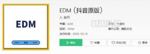 抖音EDM是什么意思啥梗 EDM是什么歌创作的原声介绍