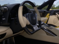 Pearl Yellow 2012 Lexus LFA 72英里从未离开经销商