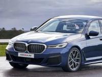 夏普全新BMW 5系渲染图泄露