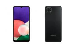 三星上个月在欧洲市场推出了Galaxy A22 4G和A22 5G
