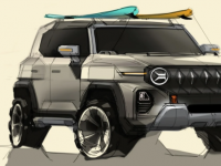 即将推出的双龙 X200 SUV预览带有复古风格的概念