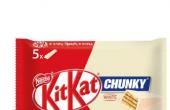KitKat Chunky Aero Mint在全国的杂货店和便利店有售