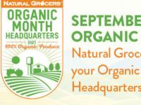 Natural Grocers以折扣和免费可重复使用的袋子庆祝国家有机收获月