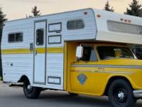 基于Checker Marathon的露营车正在销售