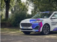 福特的新车在慕尼黑车展上展出