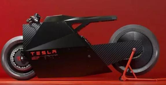 特斯拉摩托车概念在网上曝光