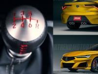 新 Acura Integra将配备手动变速箱
