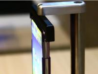TCL全球首款卷曲式手机真机